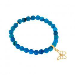 Bransoletka z Agatów Royal Blue