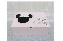 Pudełko bez przegródek- Myszka Minnie - Mm08