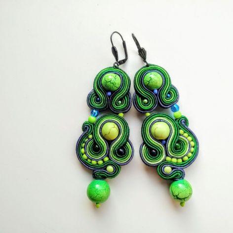 Kolczyki sutasz Turquoise