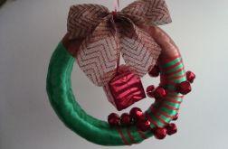"""wieniec bożonarodzeniowy """"grzechotnik"""""""