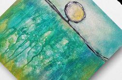 Drzewo - obraz akrylowy