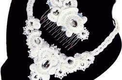 Biżuteria ślubna -komplet biżuterii