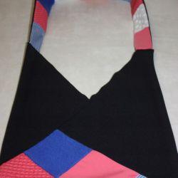 torba czarna worek Qniebie- na Fundację