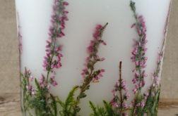 świece FLORA -z naturalnymi roślinami #8