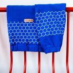Bluza - Chabrowa szósteczka - Ściągacz rękawa oraz ręcznie naszywana metka