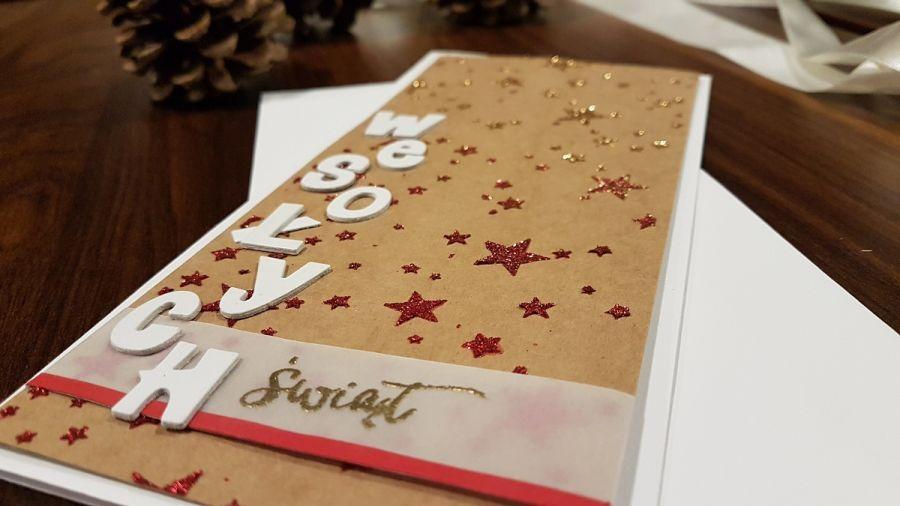 Kartka bożonarodzeniowa gwiazdki KH191002