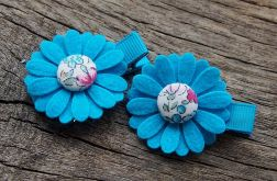 SUMMER FLOWERS Spinki do włosów kwiatki