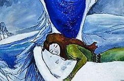 Obraz na sklejce ''Anioł syberyjski''