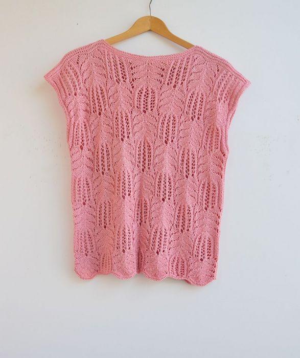 Bluzka w kolorze różowym