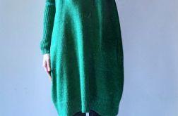 Sukienka oversize z kieszeniami 09