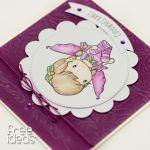 Cudownej Babci z aniołkiem KDB1802 - święto babci