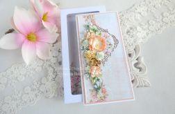 Ślubna kartka w pudełku 179