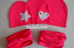 Komplet dresowy różowy