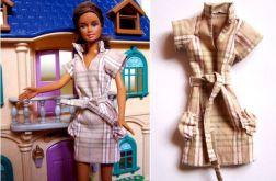 Sukienka w krateczkę