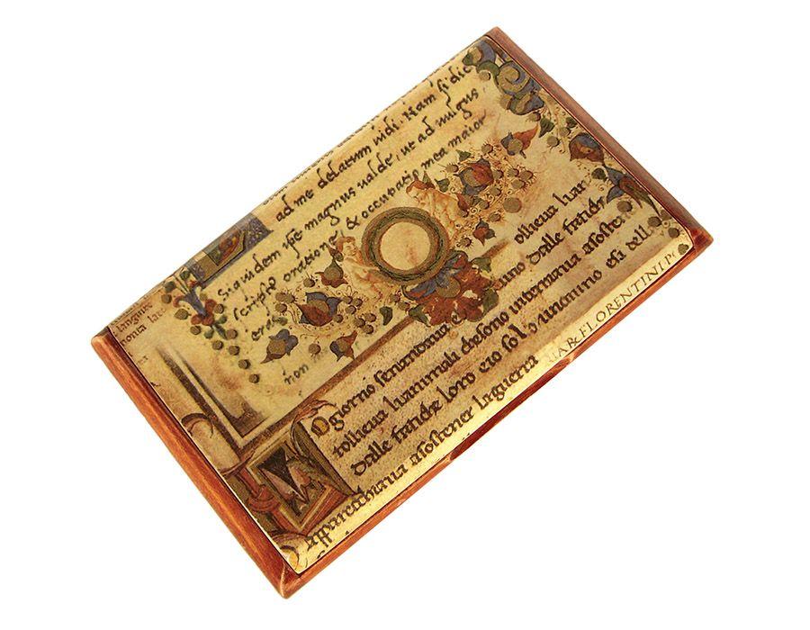 MANUSKRYPT - wizytownik,etui na karty płatn.