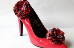 Klipsy - spinki do butów Cętki