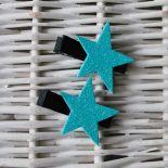 Spineczki brokatowe gwiazdki