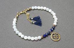 Muszla & Lapis lazuli - Szlachetna kolekcja