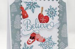 Believe - kartka bożonarodzeniowa KBN1932