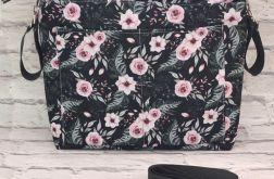 ORGANIZER do wózka Wild blossom dark / Róże