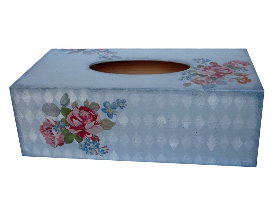 BUKIETY RÓZ - pudełko na chusteczki - BUKIETY RÓŻ - chustecznik, pudełko na chusteczki