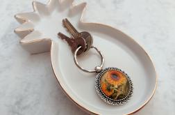 Brelok do kluczy słoneczniki - Fabricate