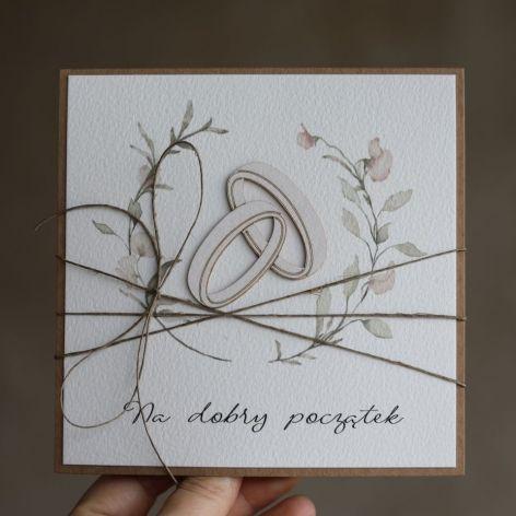 Kartka ślubna 1