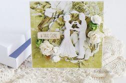Kartka ślubna w pudełku, 449