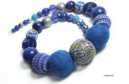 Naszyjnik BOA - Classic BLUE