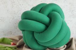 Poduszka piłka zielona