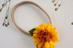 Opaska do włosów jesienny kwiatek FairyBows