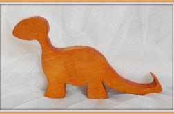 Drewniane Dinozaury