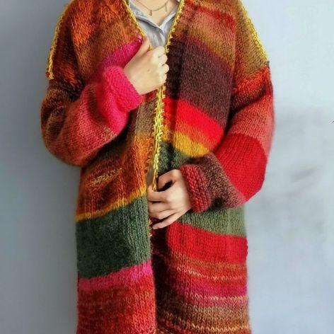 multikolor sweter