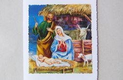 Kartka świąteczna-stajenka