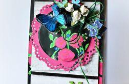 Góralska - z niebieskim motylem