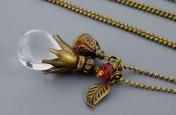 Kropla crystal - długi naszyjnik