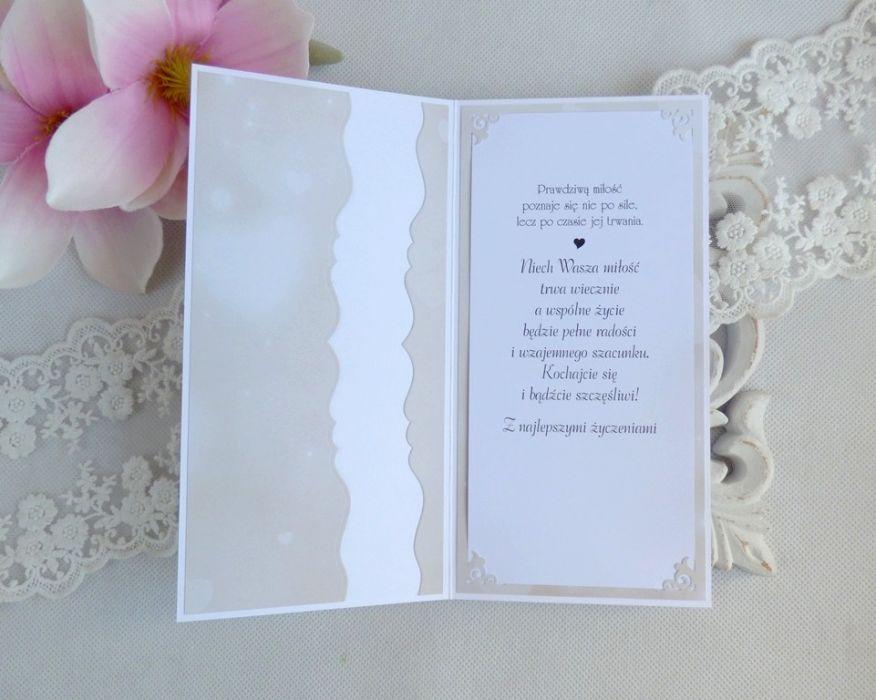 Ślubna kartka w pudełku 188