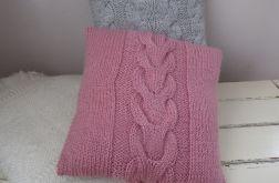 poduszka z włóczki  sweterek