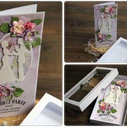 W dniu ślubu - kartka w pudełku6