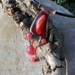 Czerwień w szkle i marmurze - fusing szklany