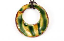 wisior ceramiczny koło