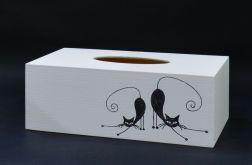 Chustecznik-pudełko na chusteczki Kot
