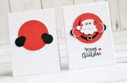 Kartka świąteczna ze Świętym Mikołajem