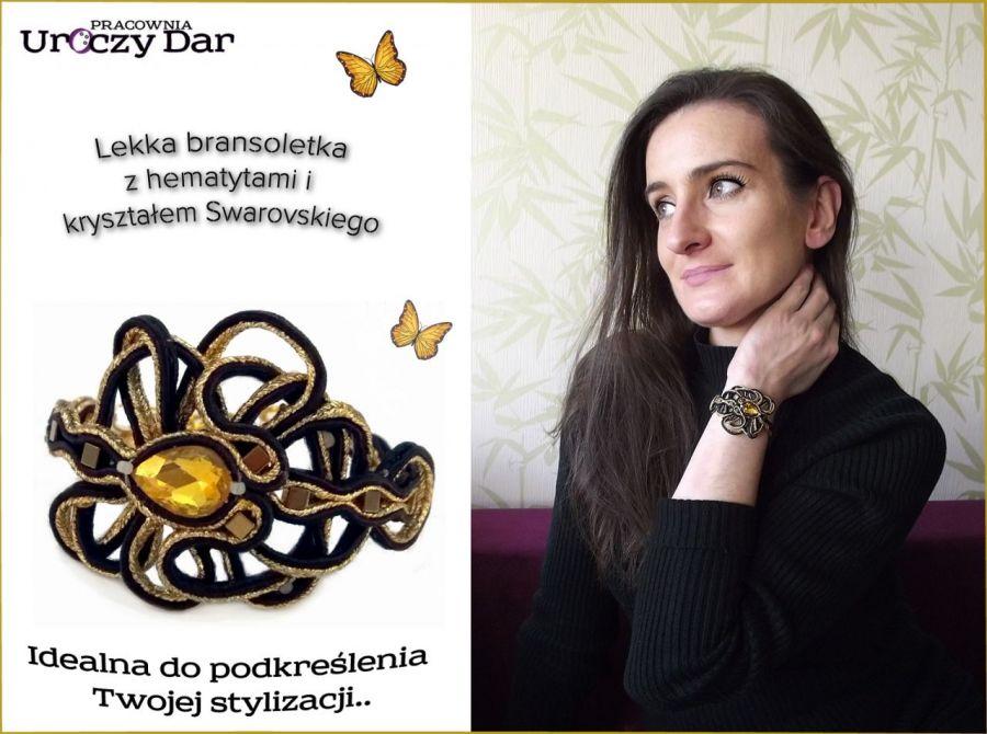 Bransoletka Gold star.
