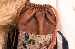 Ruda torba worek z kominem