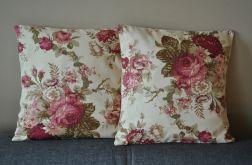 Poszewka dekoracyjna - róże angielskie