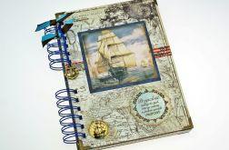 Pamiętnik/ Notatnik- pamiętnik marynarza