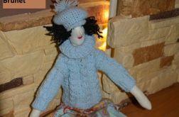 Brunet - lalka dekoracyjna