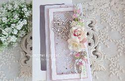 Ślubna kartka w pudełku 446