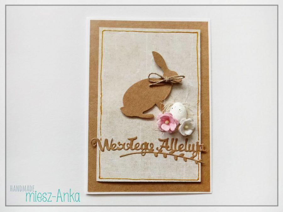 WIELKANOC - wyjątkowa KARTKA ŚWIĄTECZNA - 3 - Wielkanoc, kartka, wielkanocna, okolicznościowe